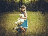 美丽的欧美小女孩