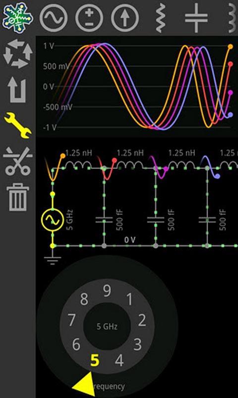 电子电路模拟器