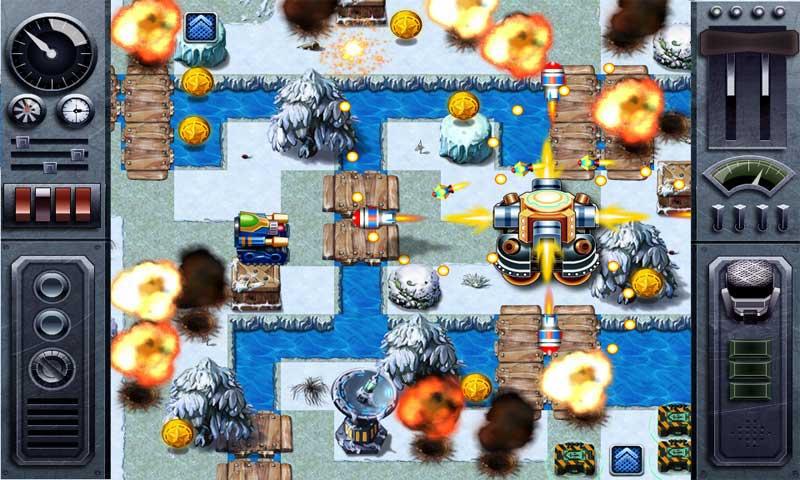 全新3D版坦克大战夺目登场。极尽真实的战争场景,多种多样的互动景物,凶残的敌人,在枪林弹雨中与敌方坦克进行殊死较量,这一切都将让你体验真实的坦克战争。复杂多变的地形地貌、战场氛围和时起时息的战火狼烟令您身临其境地体验那个战火弥漫的年代。火爆刺激、鲜亮逼真的战场效果更可让你酣战不休、无法停手。5大战区地图,100+艰苦战役,超长白金游戏体验!