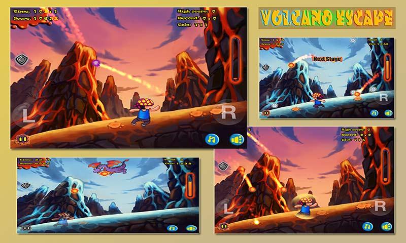 火山逃亡游戏截图2