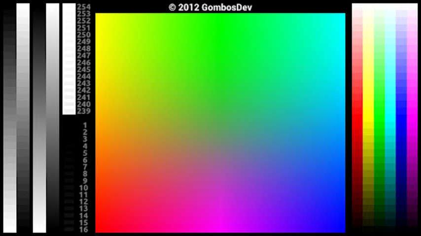 测试和找出你的屏幕是否有问题?该测试工具,可以测试设备的液晶屏。它的目的是让全屏幕测试集成电路/蜂窝设备隐藏的软键。系统要求:Android 2.1及以上系统。 特点: - 坏点测试:检测坏点展示了一系列坚实的背景颜色页 - 颜色测试:对比,梯度(带)和饱和度测试 - 伽玛校正试验(灰色/红色/绿色/蓝色) - 视角测试(这是无用的有机发光二极管显示器) - 多点试验 - 显示性能测试 - 措施信息:显示屏幕的大小,处理器类型,独立的像素大小,1信息,像素格式。 - 真实世界的照片供参考与比较 - 四